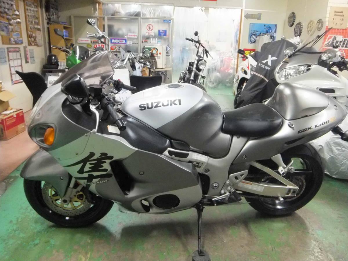 「スズキ ハヤブサ 隼 GSX1300R H14 2002年モデル 低走行車 動画あり 埼玉より」の画像2