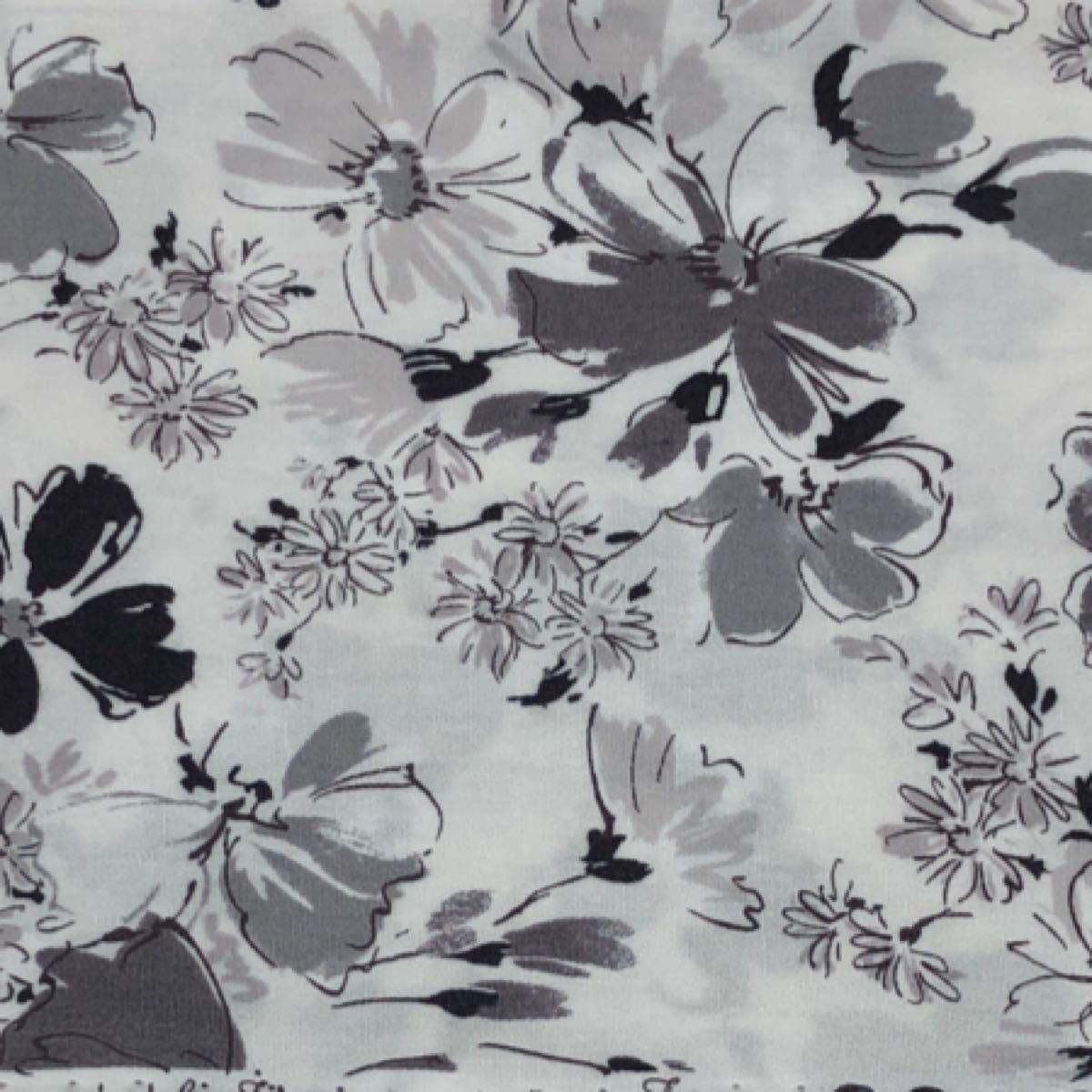 生地 はぎれ 花柄 50cm×50cm  3色