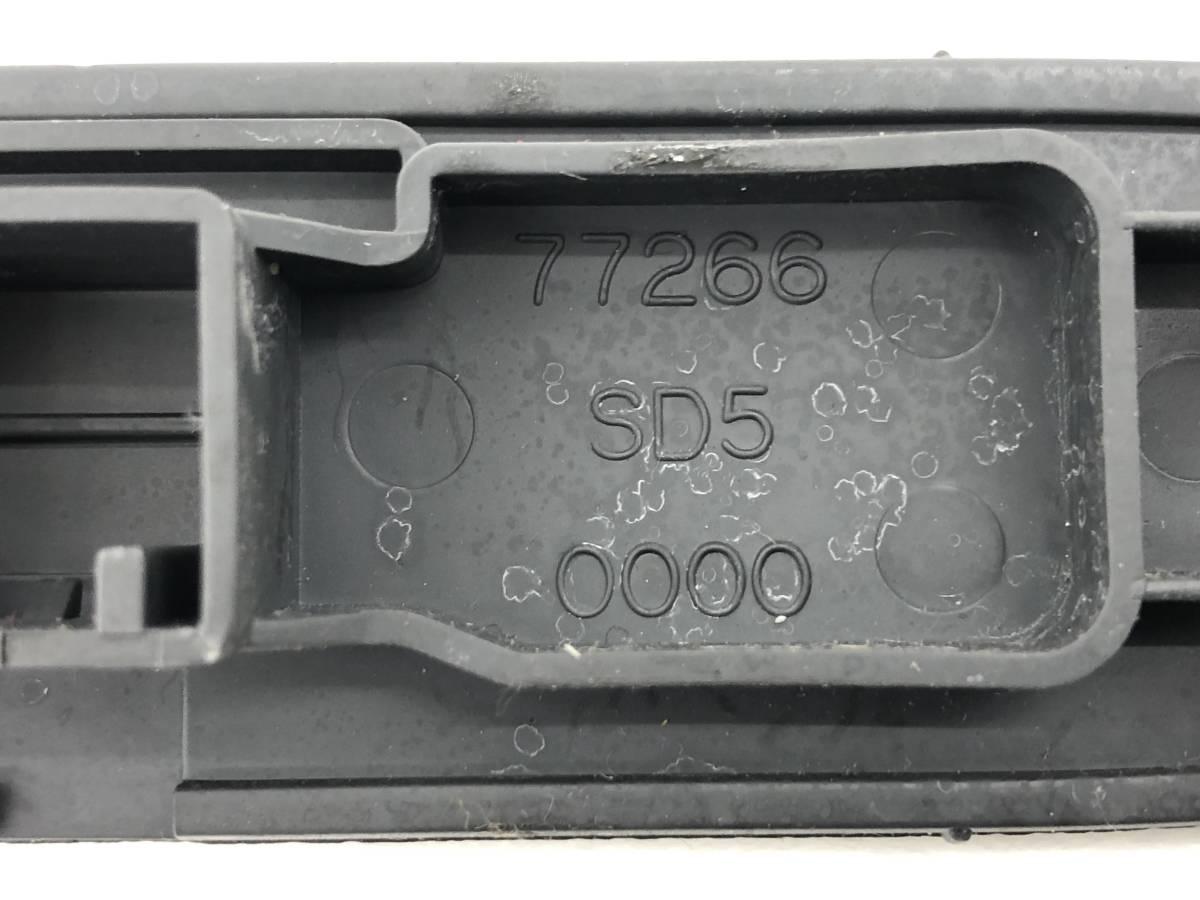 _b54379 ホンダ トゥデイ ハミングX V-JW3 ダッシュボード メクラ蓋 ふた 時計部 トリム 内装 カバー C 77266-SD5-0000 JW2 JA2 JA3_画像3