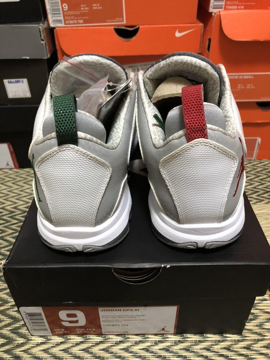 Nike Jordan CP3.6 & Melo M9 Christmas 2足セット(ジョーダン)us9(27cm)新品_画像3