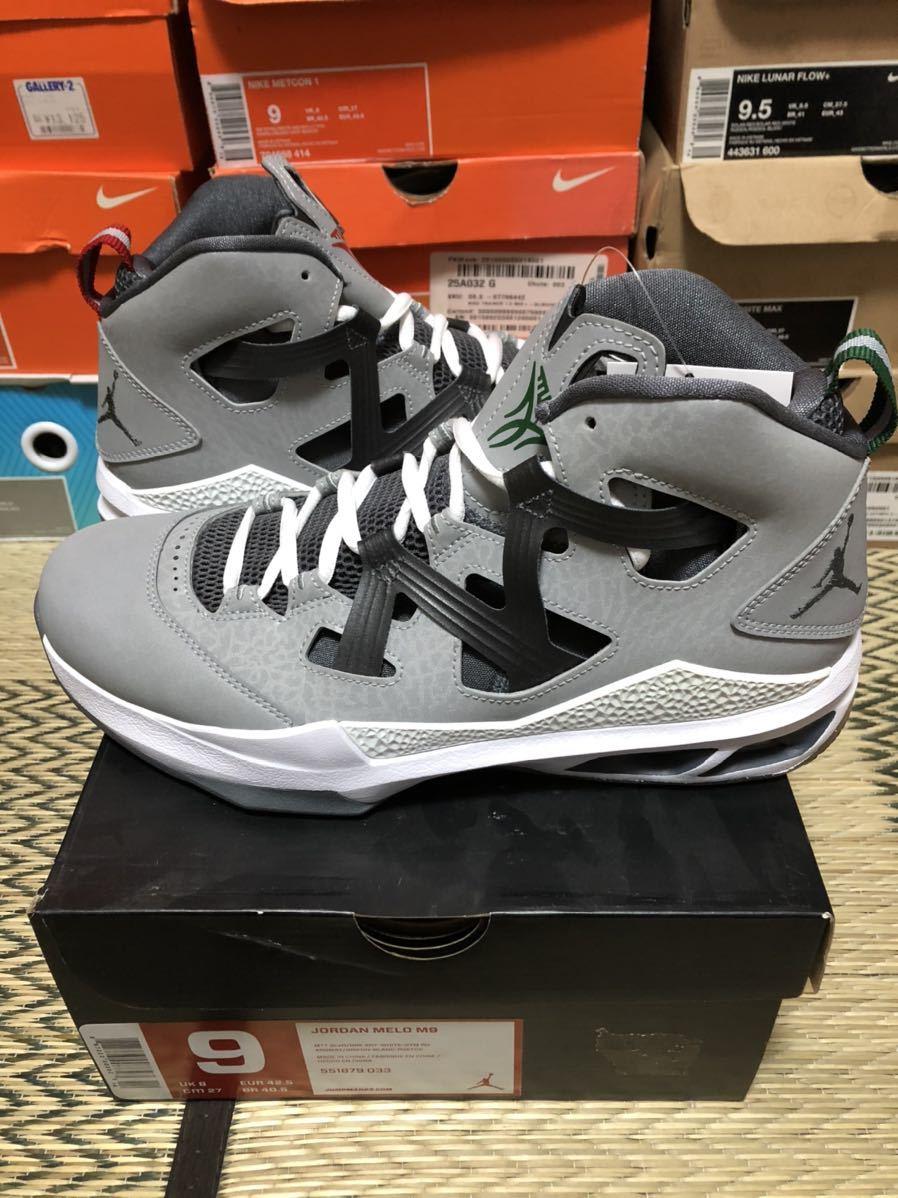 Nike Jordan CP3.6 & Melo M9 Christmas 2足セット(ジョーダン)us9(27cm)新品_画像7