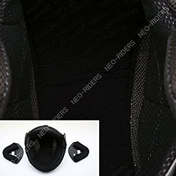 ブラック L ネオライダース (NEO-RIDERS) FX3 ジェット ヘルメット ビッグサイズ 61-62cm未満 SG/P_画像3