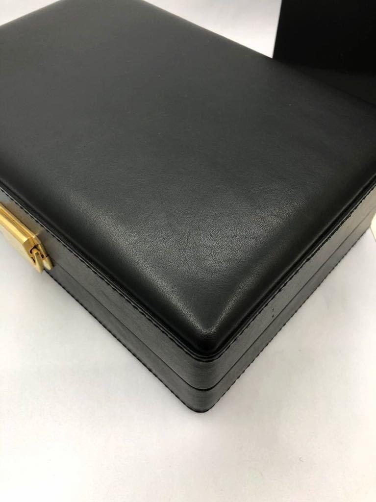 スカトラ・デル・テンポ 高級腕時計ケース 8本用 ブラック 極美品 SCATOLA del TEMPO ワインディングマシーン スカトーラデルテンポ_画像10