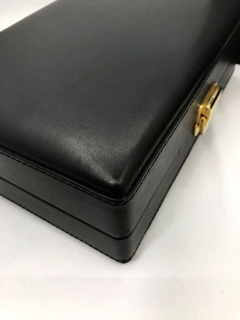 スカトラ・デル・テンポ 高級腕時計ケース 8本用 ブラック 極美品 SCATOLA del TEMPO ワインディングマシーン スカトーラデルテンポ_画像9