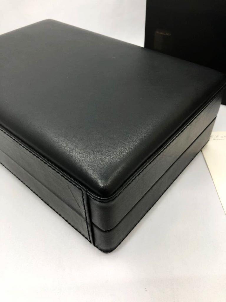 スカトラ・デル・テンポ 高級腕時計ケース 8本用 ブラック 極美品 SCATOLA del TEMPO ワインディングマシーン スカトーラデルテンポ_画像8