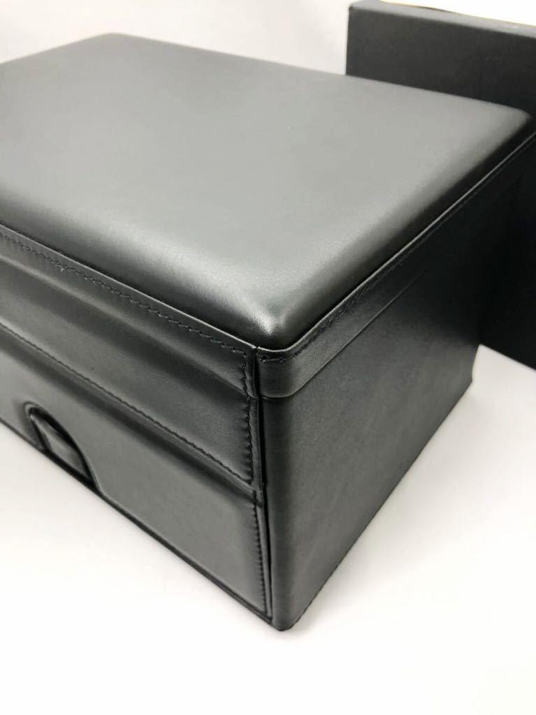 スカトラ・デル・テンポ 高級腕時計ケース ワインディングマシーン 7本用 ブラック 極美品 動作確認済み SCATOLA del TEMPO_画像8