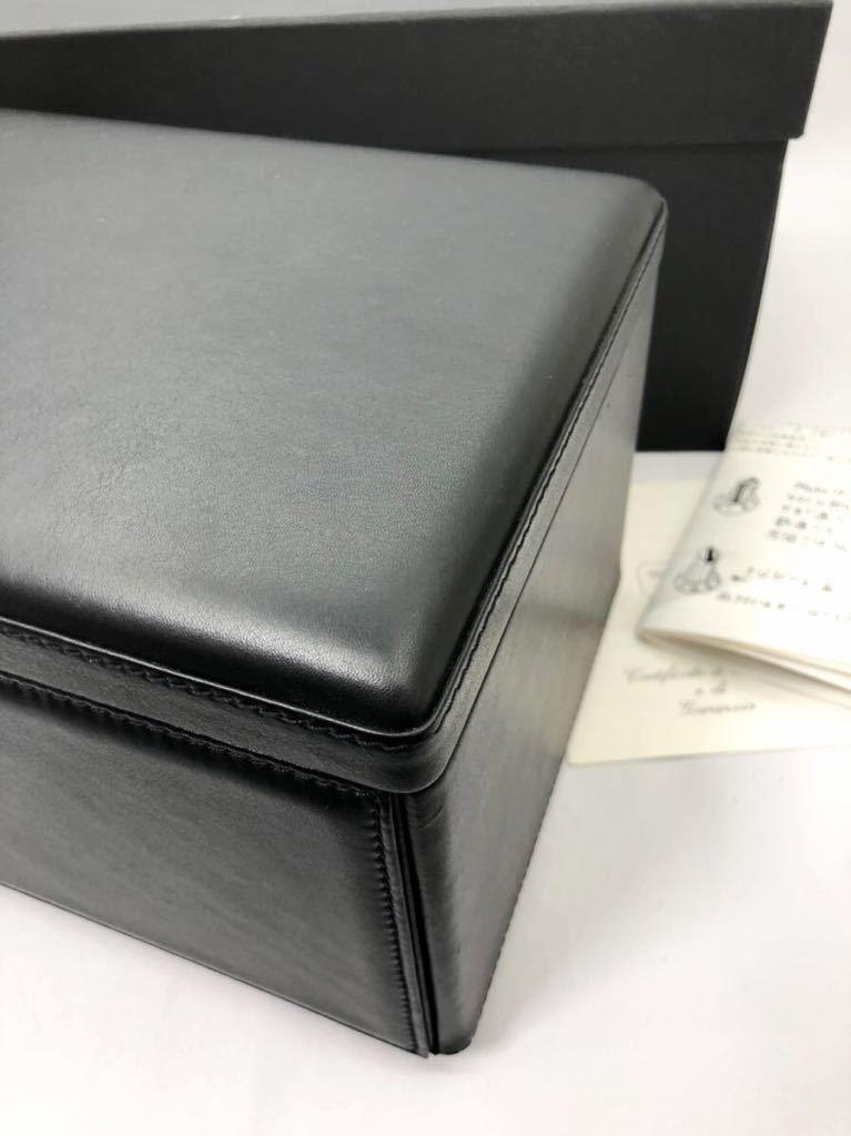 スカトラ・デル・テンポ 高級腕時計ケース ワインディングマシーン 7本用 ブラック 極美品 動作確認済み SCATOLA del TEMPO_画像6