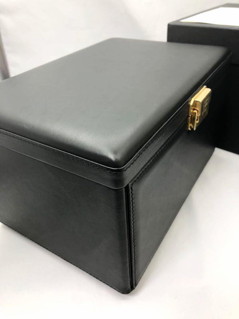スカトラ・デル・テンポ 高級腕時計ケース ワインディングマシーン 7本用 ブラック 極美品 動作確認済み SCATOLA del TEMPO_画像7
