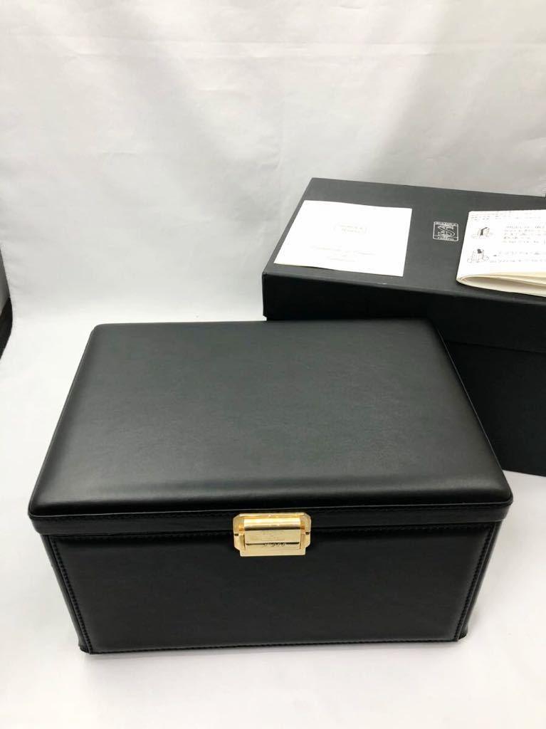 スカトラ・デル・テンポ 高級腕時計ケース ワインディングマシーン 7本用 ブラック 極美品 動作確認済み SCATOLA del TEMPO_画像1
