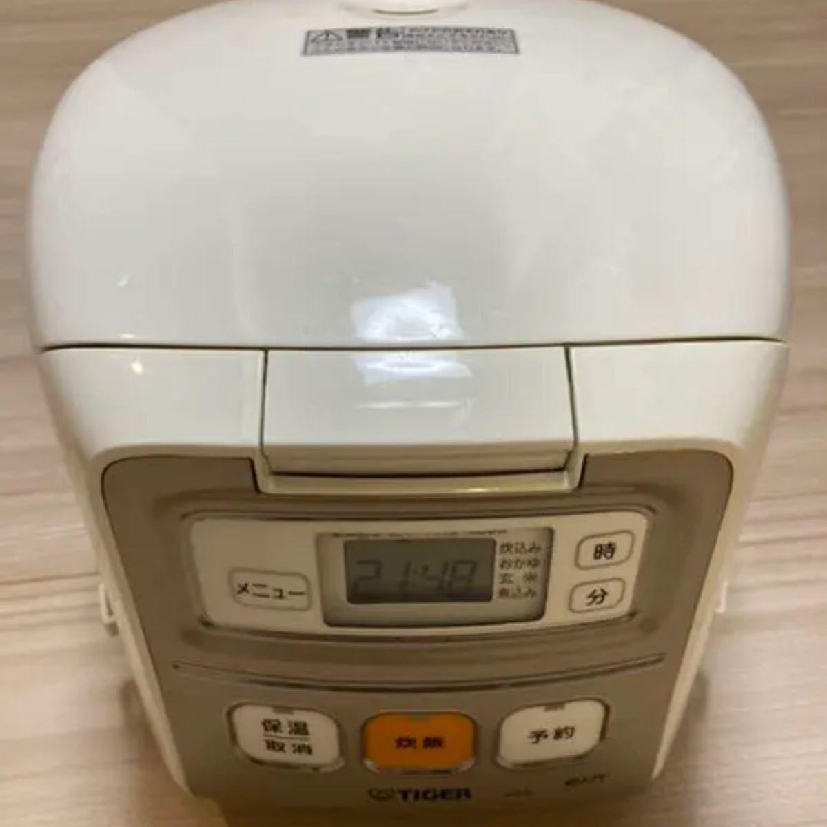 中古 炊飯器 タイガー魔法瓶 JAI-R550(W) タイガー炊飯器 炊飯器3合