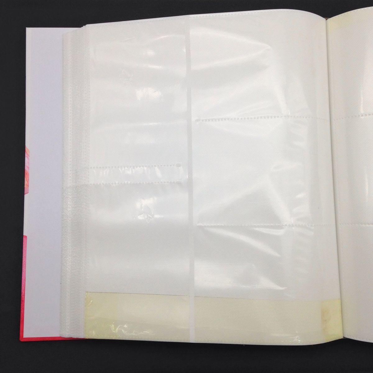 【訳あり】フォトアルバム フラミンゴ 水彩画風 ケース付き 大容量_画像5