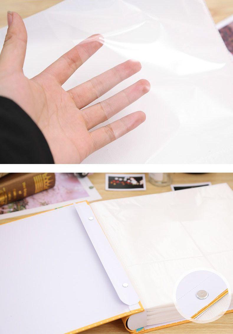【訳あり】フォトアルバム フラミンゴ 水彩画風 ケース付き 大容量_画像4