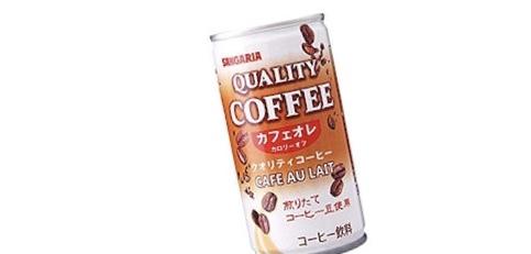 未開封 サンガリア クオリティコーヒー カフェオレ カロリーオフ 185ml×30缶 送料無料_画像1