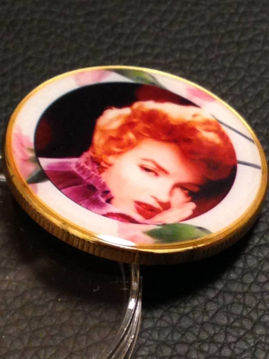 C5)海外丸形記念金貨、カラーコイン、メダル*アメリカスパースターマリリン・モンロー*参考品1枚 セクシー ノーマジーン_画像2