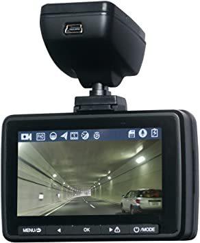 ドライブレコーダー 16GB SDカード付属 フロントカメラ バックカメラ フルHD 暗視機能 Gセンサー搭載 上書き録画_画像2