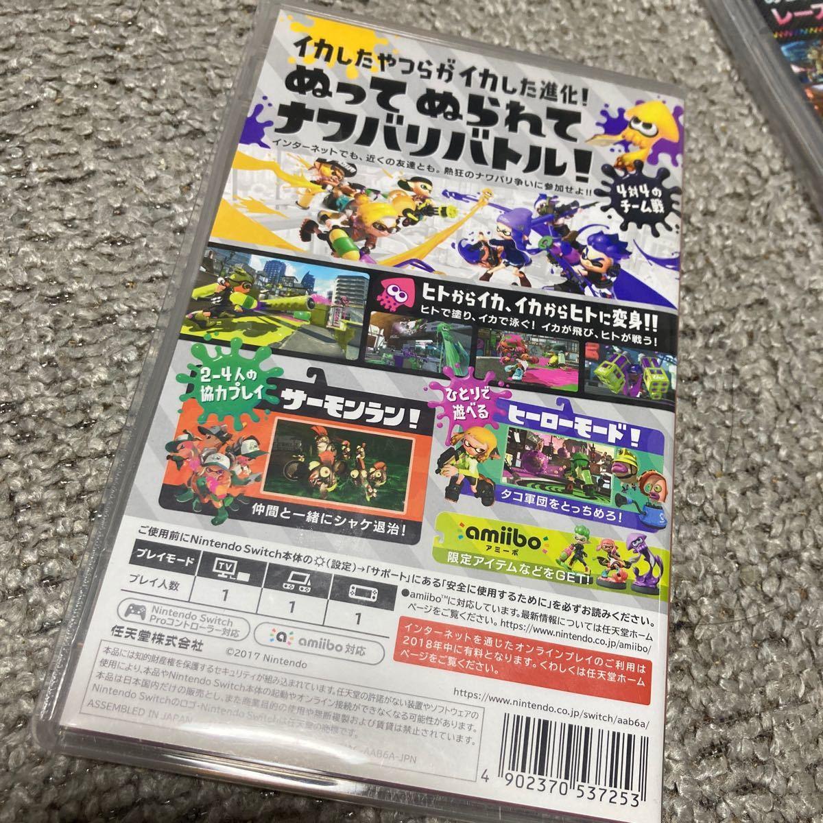 マリオカート8 デラックス スプラトゥーン2 ドンキーコングトロピカルフリーズ Nintendo Switch ソフト スイッチ