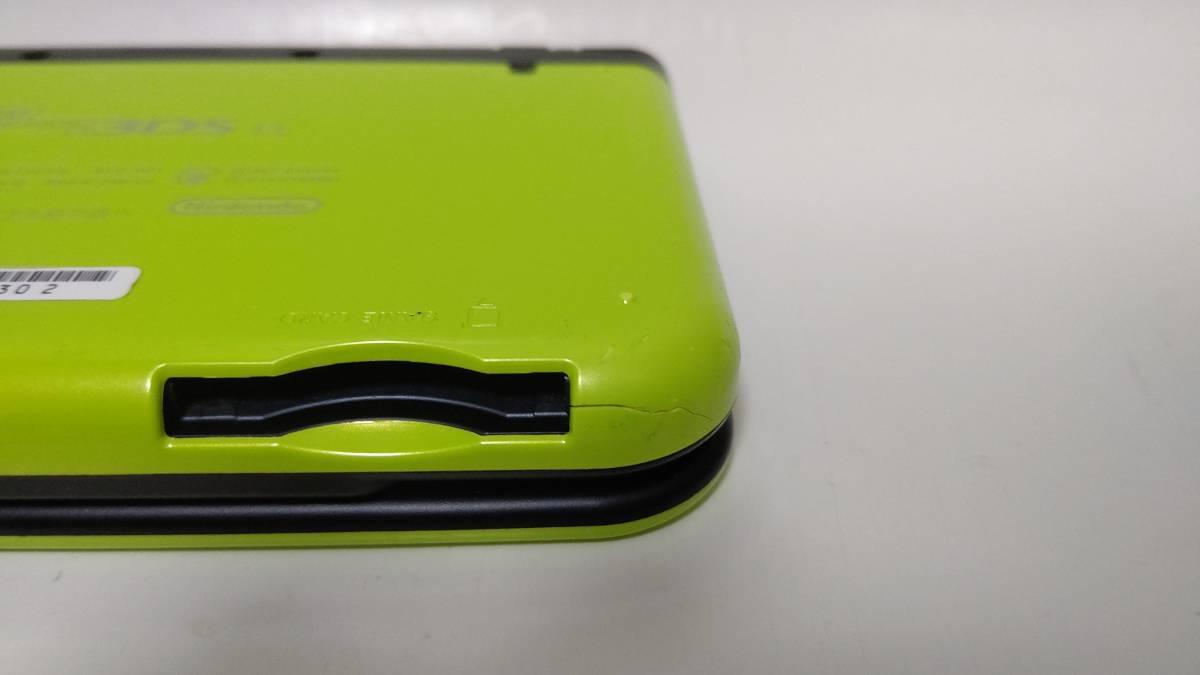 Newニンテンドー3DS LL ライム×ブラック USBケーブルセット