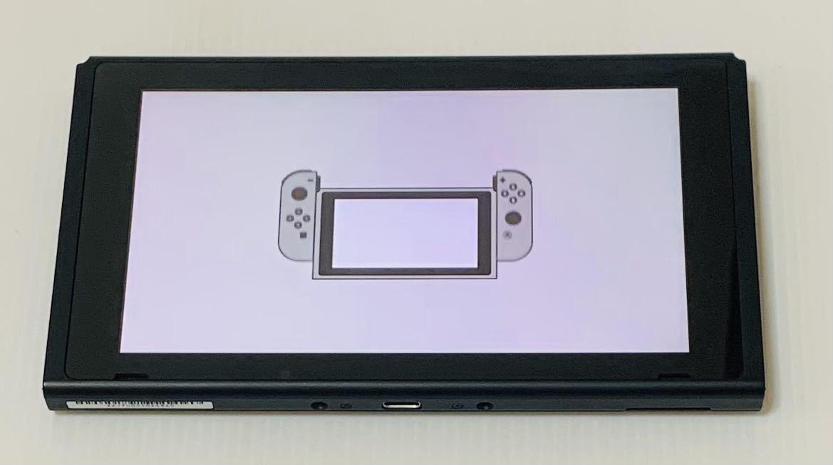 良品 新型ニンテンドー スイッチ 本体のみ 2020年製 動作良好品 Nintendo Switch 任天堂 1円スタート