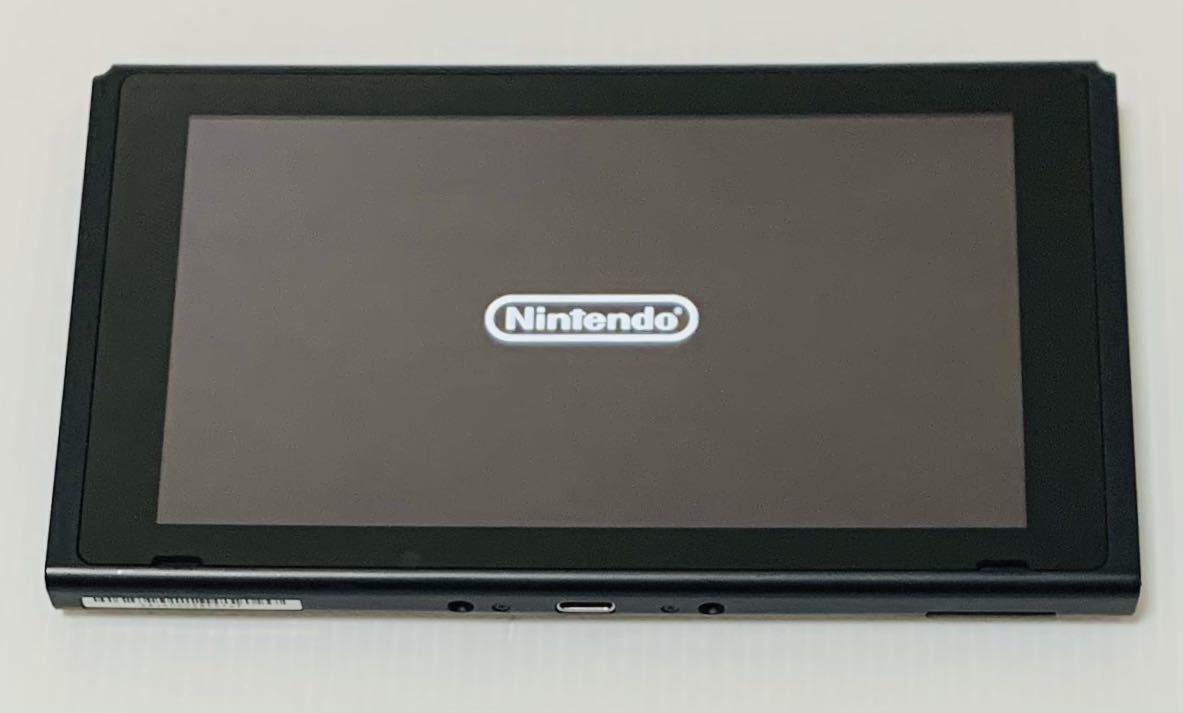 液晶美品 ニンテンドー スイッチ 本体のみ 2016年製 未対策機 動作良好 Nintendo Switch 任天堂 1円スタート