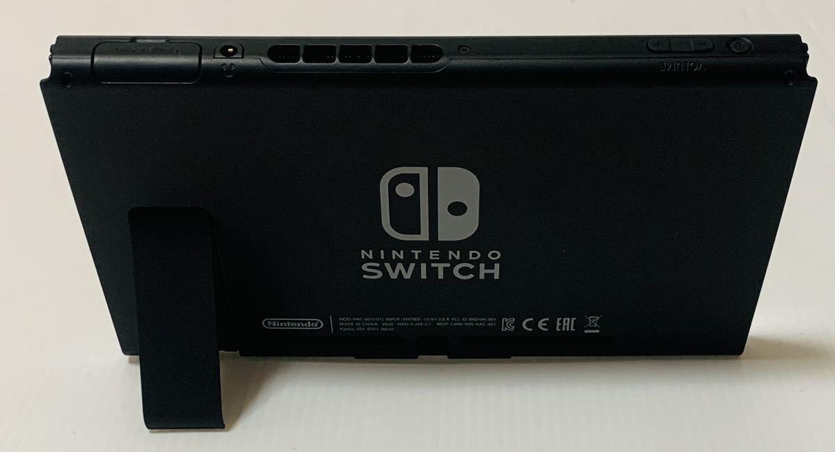 良品 新型ニンテンドー スイッチ 本体のみ 2020年製 動作良好品 Nintendo Switch 任天堂 1円スタート_画像4