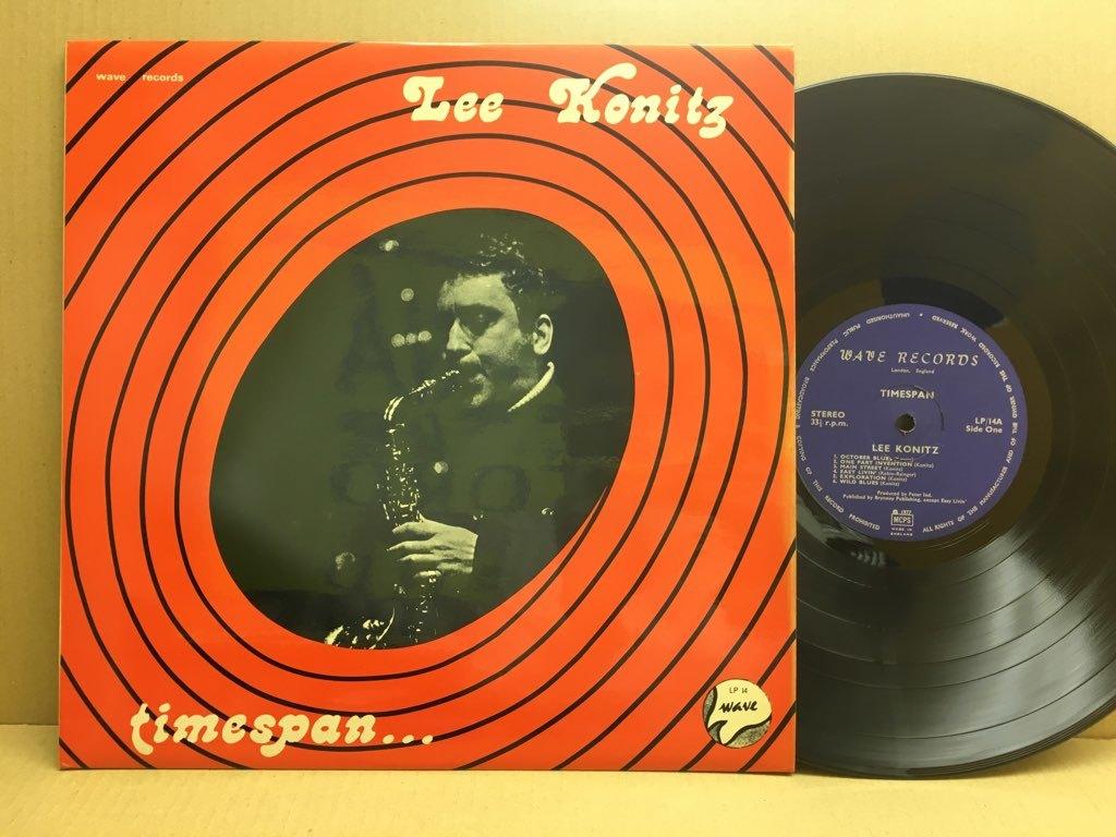 LP Lee Konitz / Timespan UKオリジ Wave LP14 未発表集 コーティング リー・コニッツ_画像1