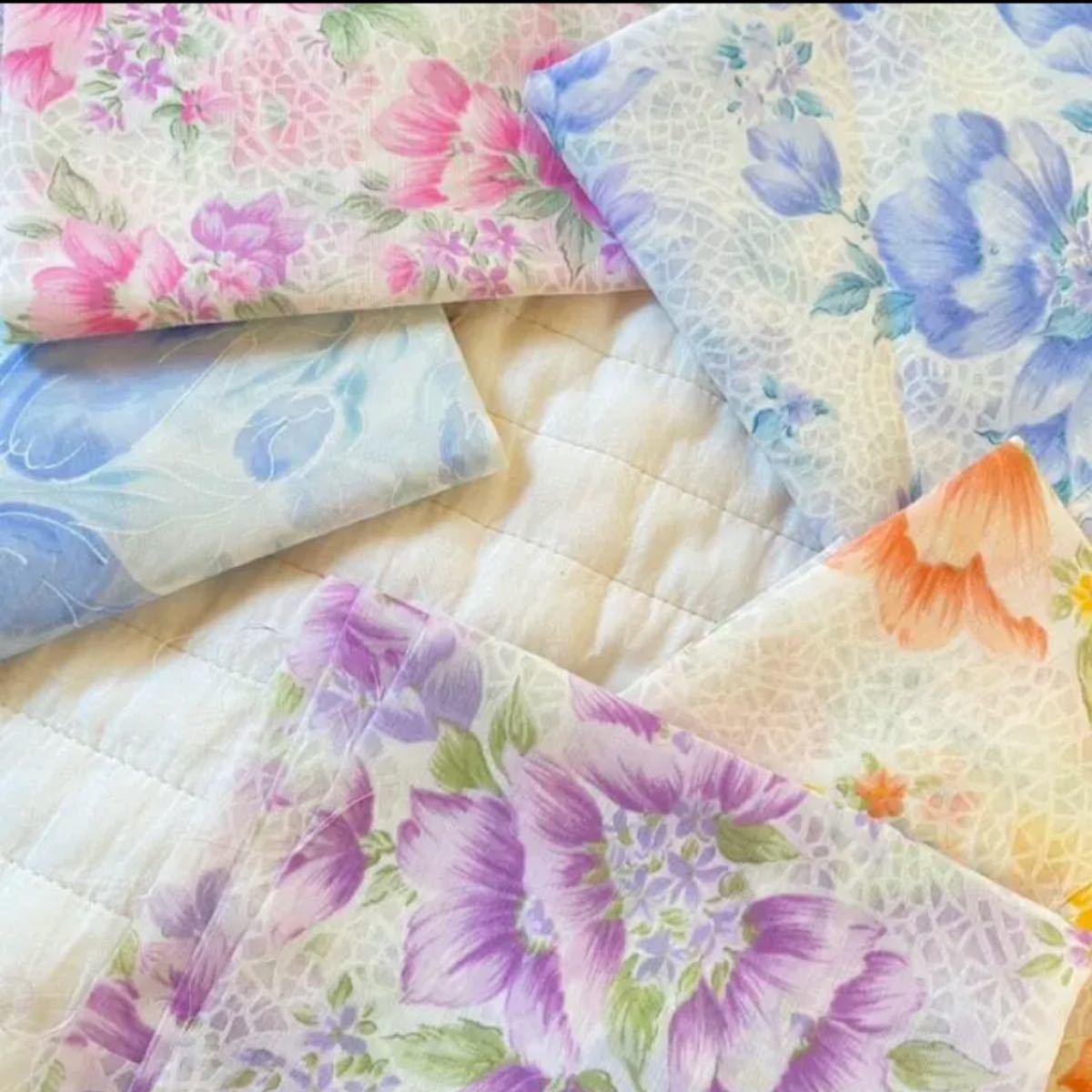 ◆素材◆生地 はぎれ 花柄 5枚セット