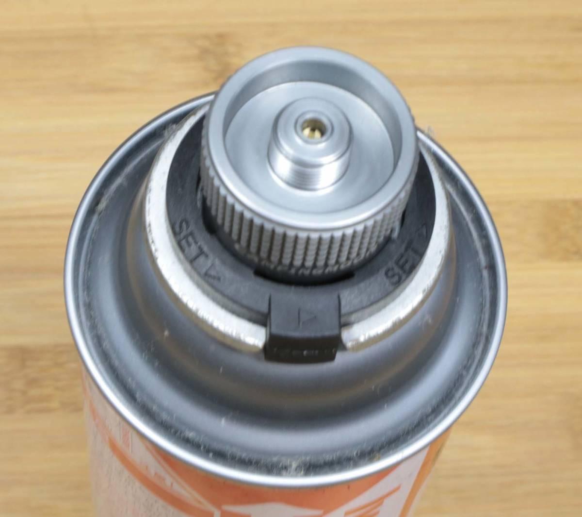 【キャンピングムーン】アメリカ仕様USNアダプター⇒OD缶用アダプタ 変換アダプタセット(Z11/Z20) ※取扱注意