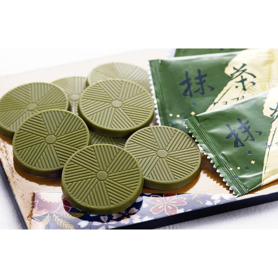 【お徳用】高級抹茶チョコレート(個包装40枚入り)京都宇治産の高級抹茶使用_画像2