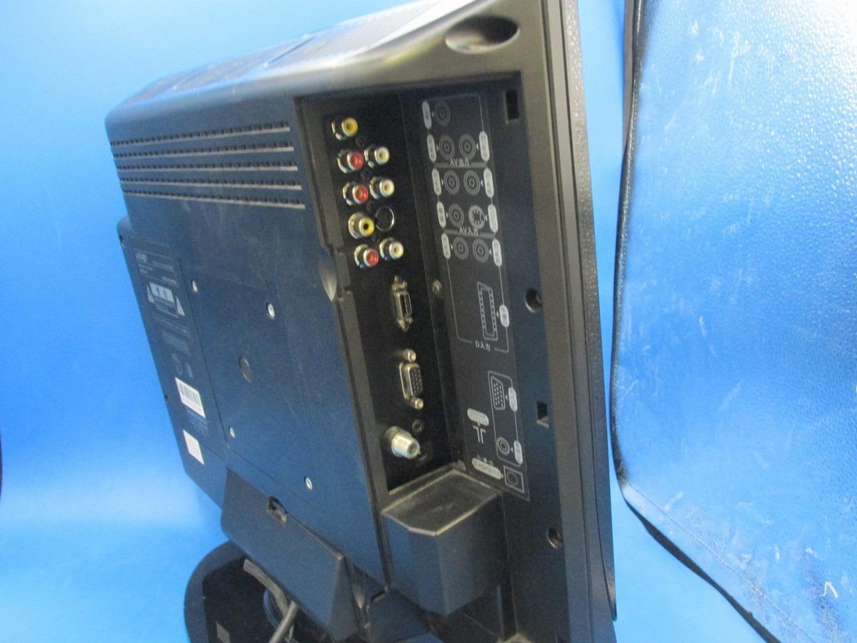 【ジャンク】by design DVDプレーヤー内蔵15インチ液晶テレビ DC-1501AWVRB_画像5