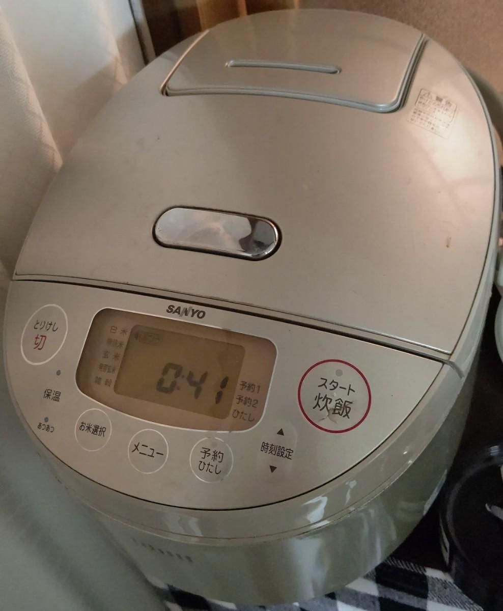 圧力IH ジャー炊飯器   SANYO ECJ-JG10