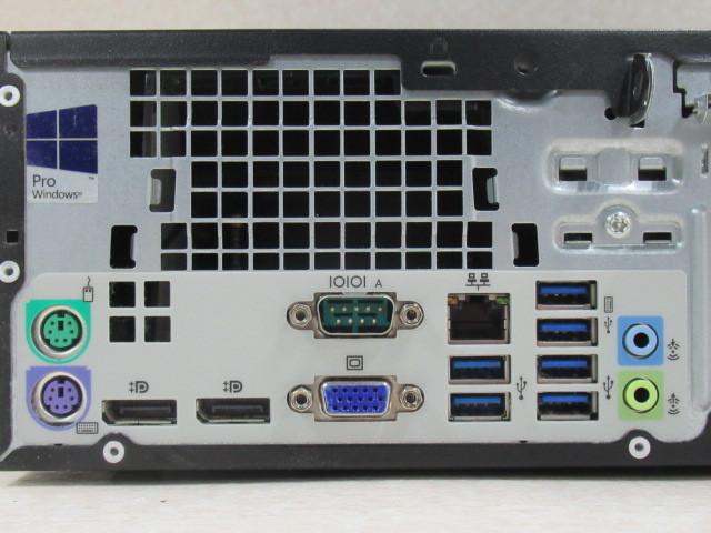 Ω ZPC 10100#保証有 HP EliteDesk 800 G2 SFF Win10Pro/ Core i5-6500/ 8GB/ 1000GB 領収書発行可・祝10000取引突破!!_画像5
