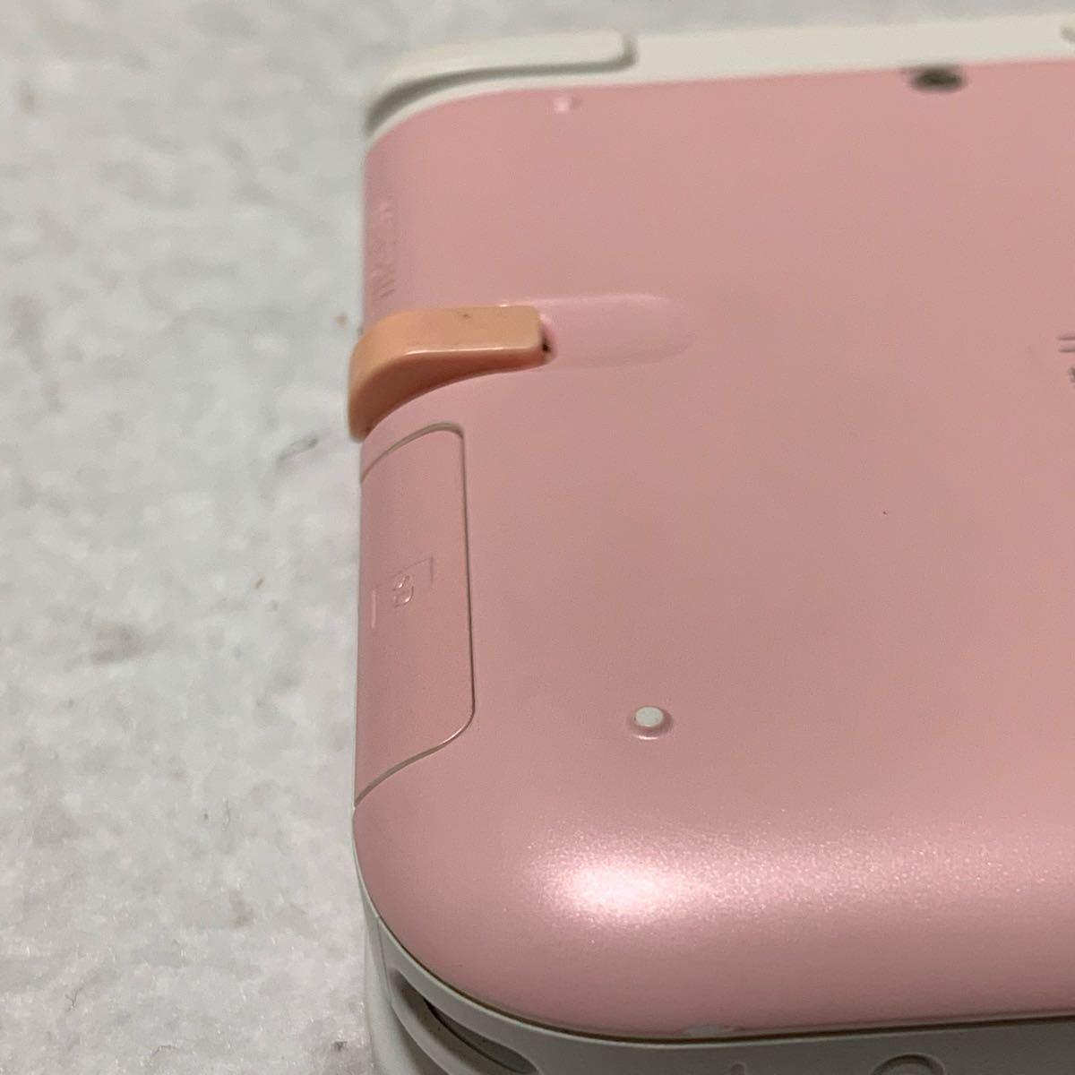 ニンテンドー3DS LL ピンク ホワイト 本体 充電器 セット 3792