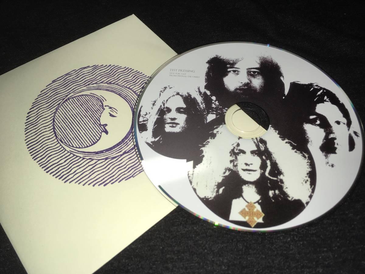 レア盤!Empress Valley ★ Led Zeppelin「Led Zeppelin III Test Pressing」★貴重ナンバリング入り/入手困難品!1CDペーパースリーブ_画像2
