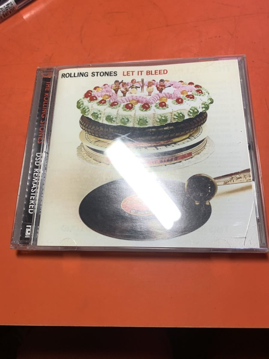 THE ROLLING STONES CD LET IT BLEED
