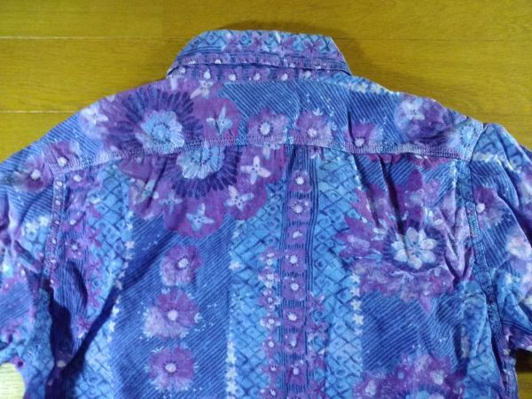 KATO' カトー 長袖シャツ SIZE:S 紫送料215円~_画像4