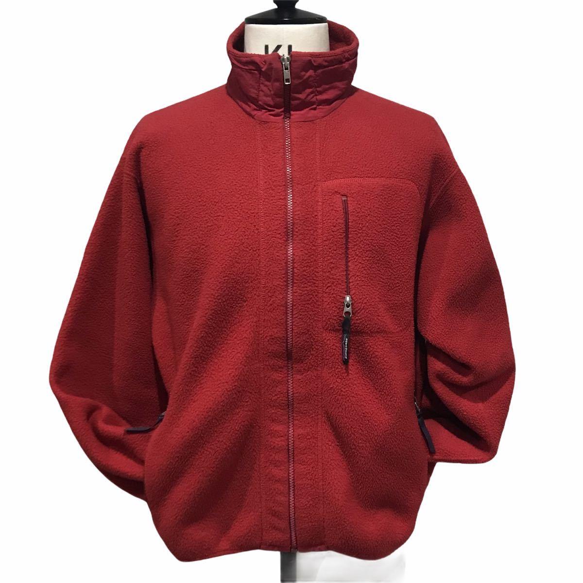 patagonia synchilla jacket パタゴニア フリース シンチラ ジャケットUSA製 アメリカ製 M レッド レトロ