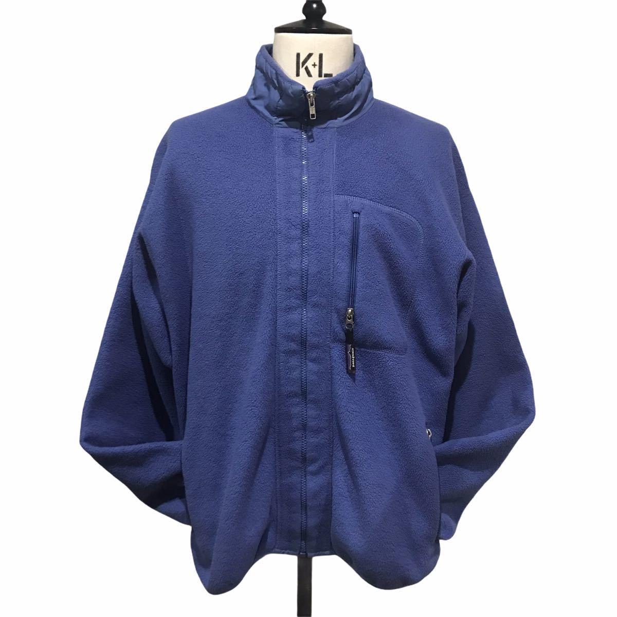 Patagonia Synchilla Jacket made in USA L パタゴニア シンチラジャケット フリース アメリカ製 L ブルー レトロカーデ