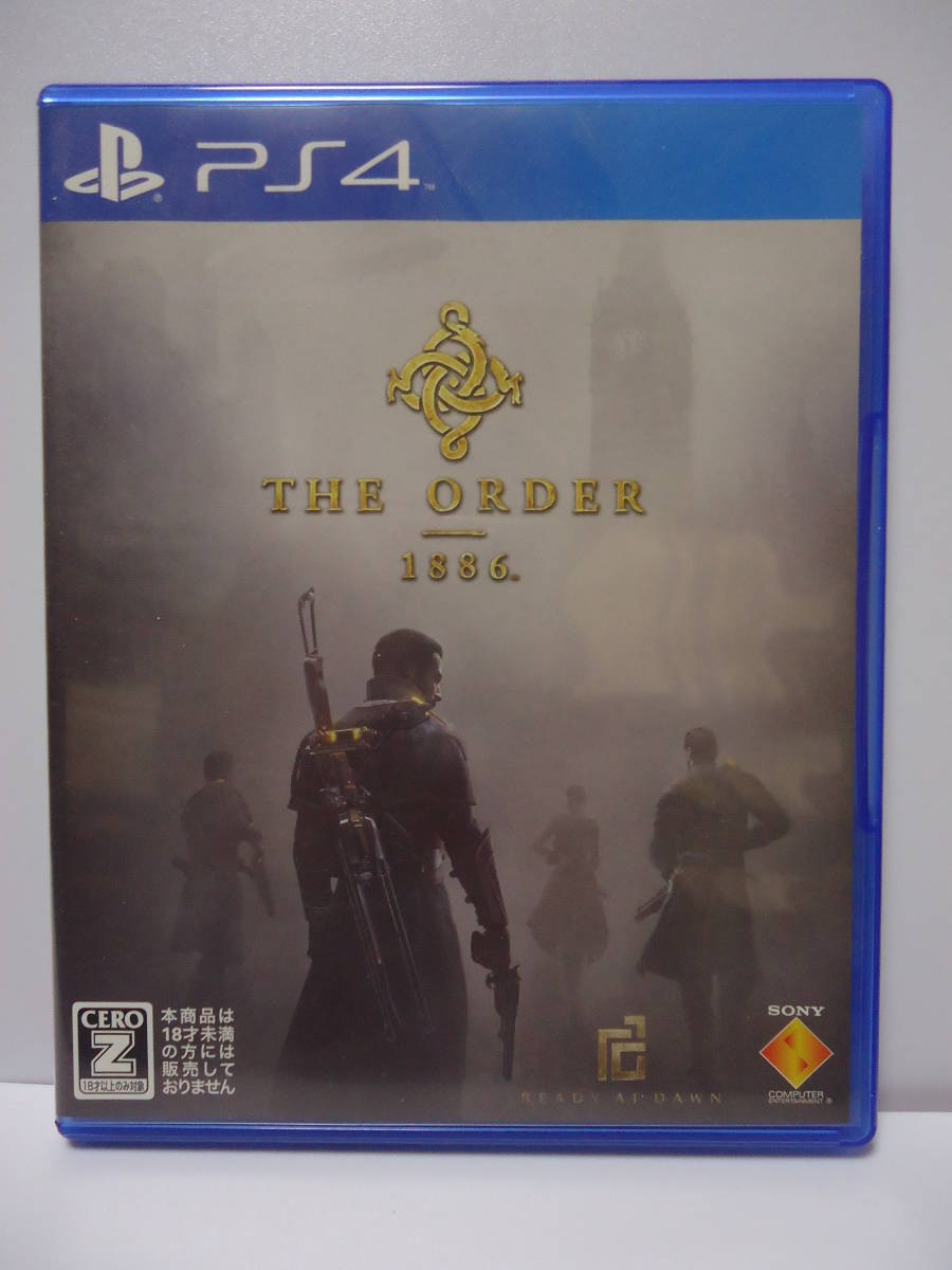 [ PS4 ] THE ORDER 1886  PS4  中古 R18