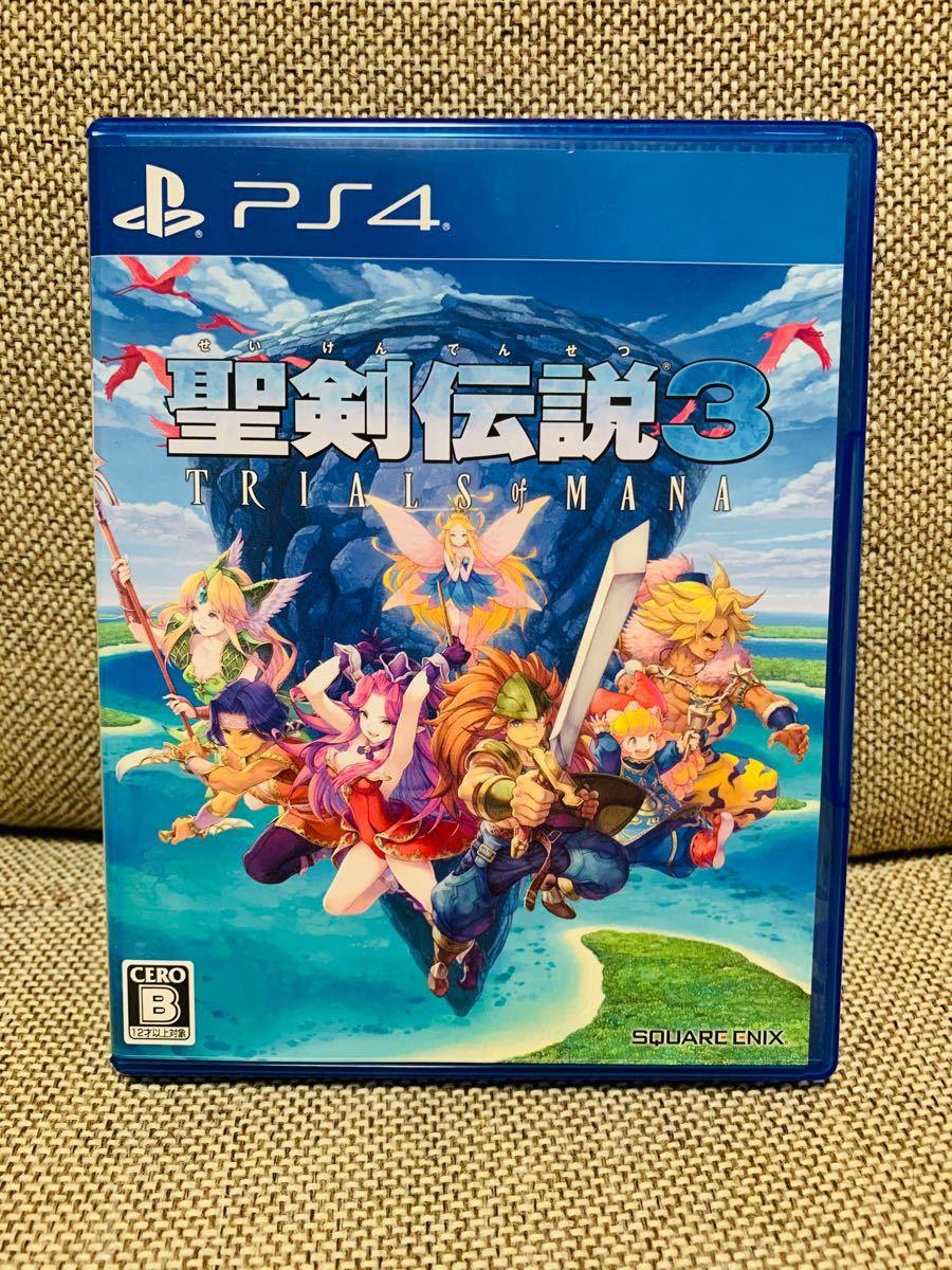 PS4 聖剣伝説3 未使用品 特典コード未使用