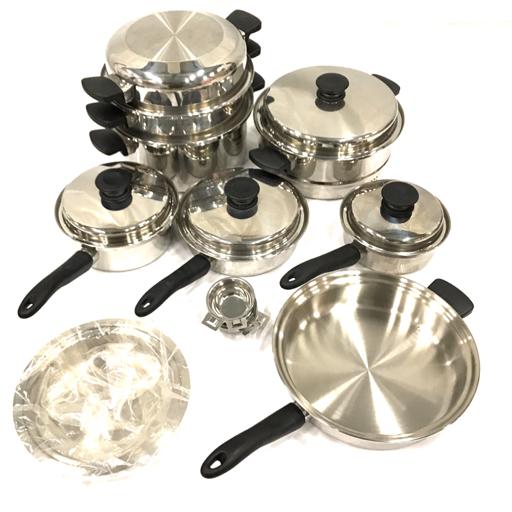 1円 アムウェイ クィーン 片手鍋 両手鍋 シチューパン 等 調理器具 ステンレス製 キッチンツール まとめ セット