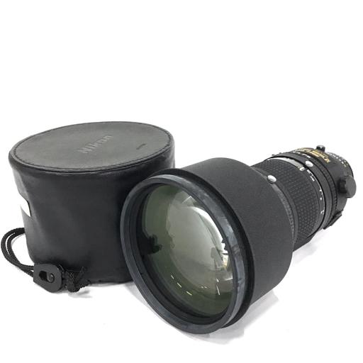 Nikon ED AF NIKKOR 300mm 1:2.8 オートフォーカス カメラ レンズ ニコン QN021-116