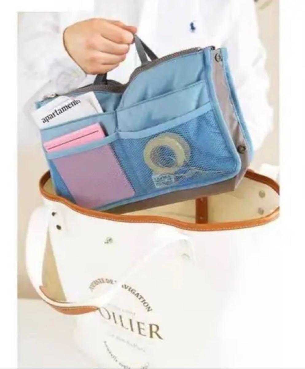 バッグインバッグ ミニ バッグ 整理 仕切り インナーバッグ三枚セット