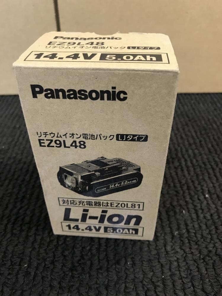 010■未使用品・即決価格■Panasonic パナソニック バッテリー EZ9L48 14.4V/5.0Ah_画像1