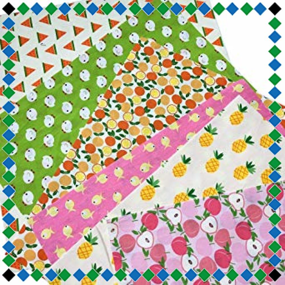 50枚 20cm x 20cm 30cm*30cm GUQI 50枚 綿 生地 はぎれセット 花柄 DIY手作り カットクロス _画像4