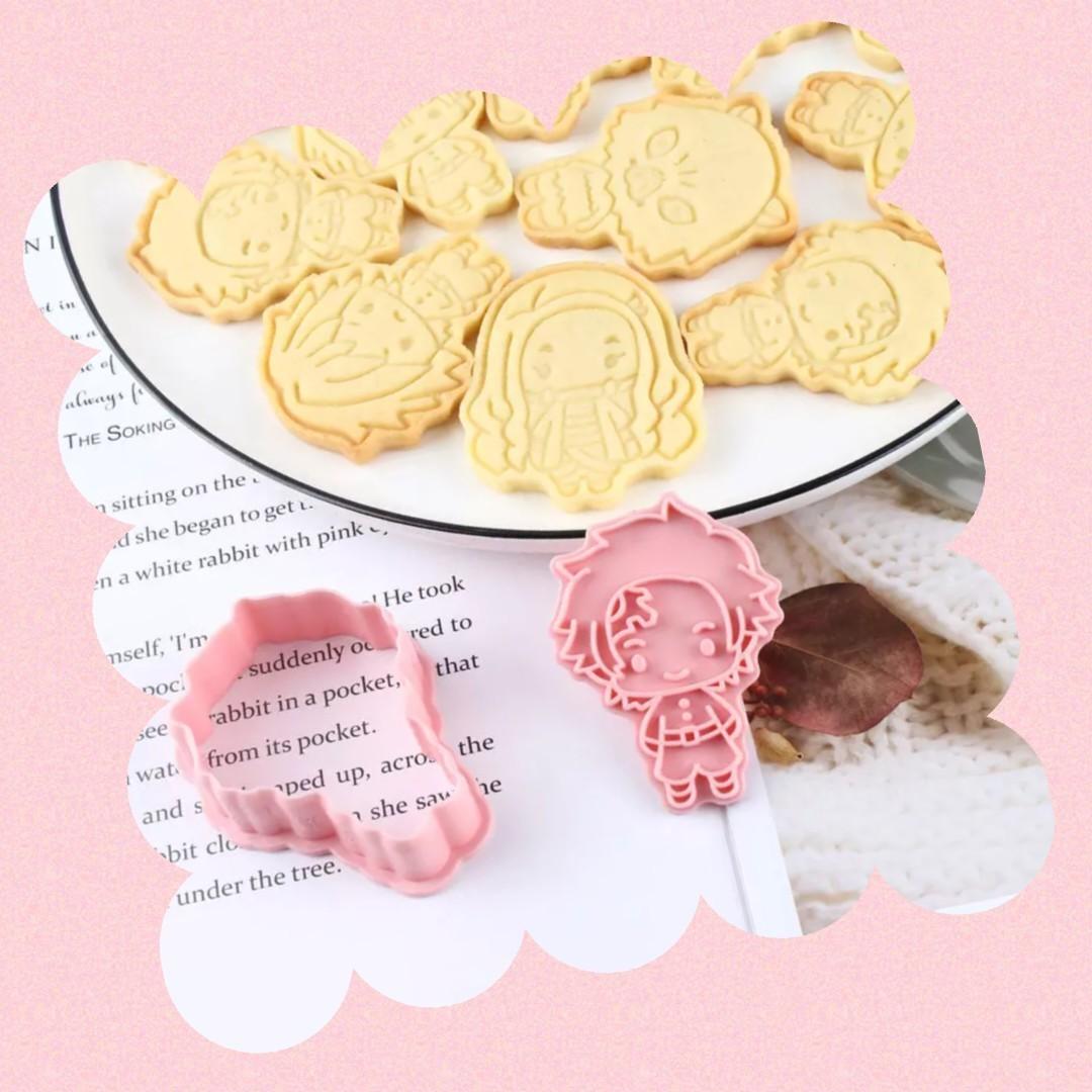 鬼滅クッキー型 6ピースセット クッキーカッター クッキー型抜き
