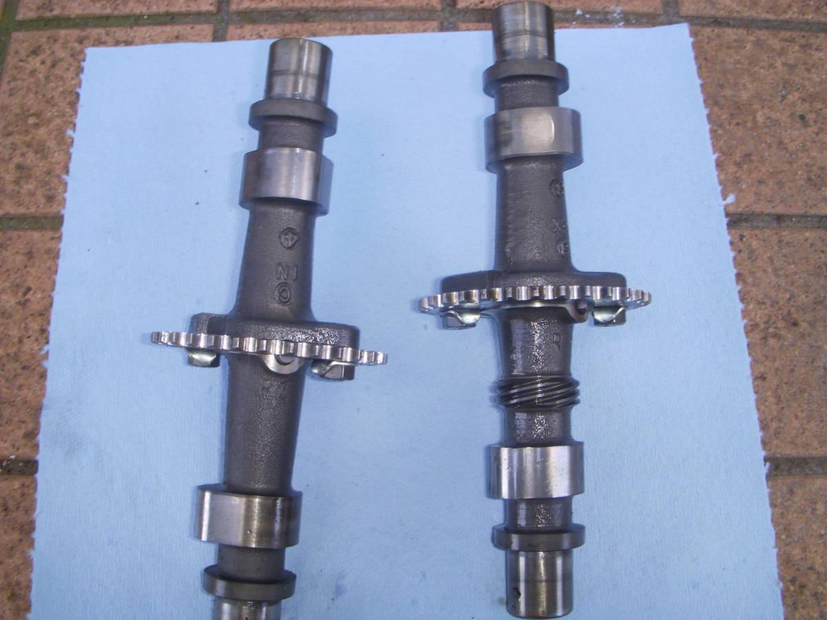 スズキGSX250E/GSX250L/GSX250T カムシャフト IN&EX セット GS25X_画像2
