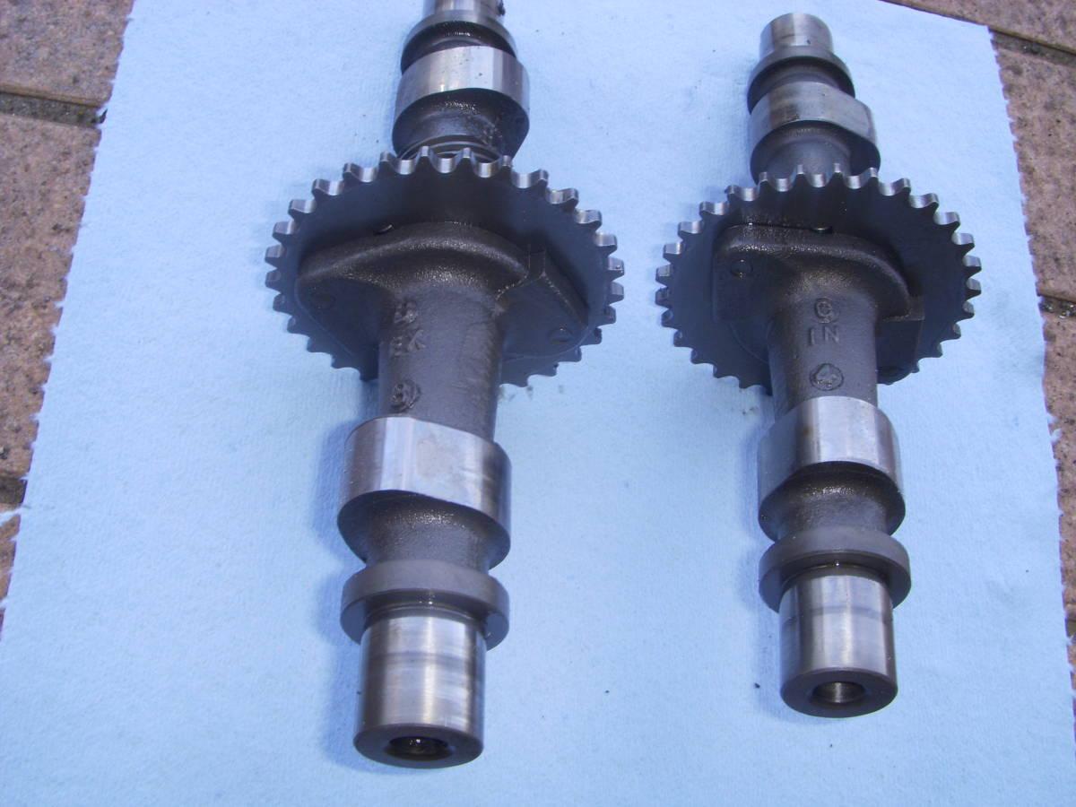 スズキGSX250E/GSX250L/GSX250T カムシャフト IN&EX セット GS25X_画像3