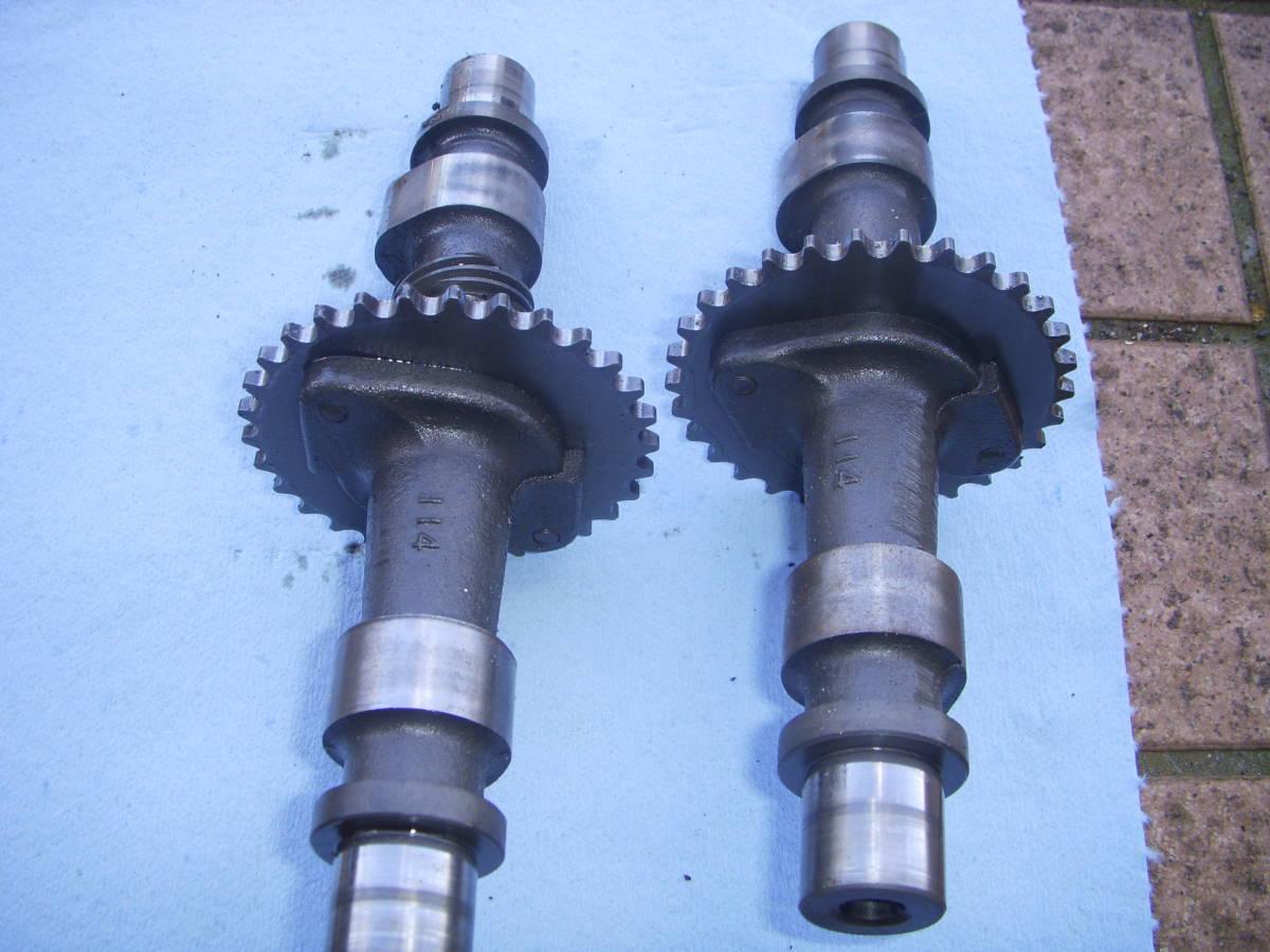 スズキGSX250E/GSX250L/GSX250T カムシャフト IN&EX セット GS25X_画像4