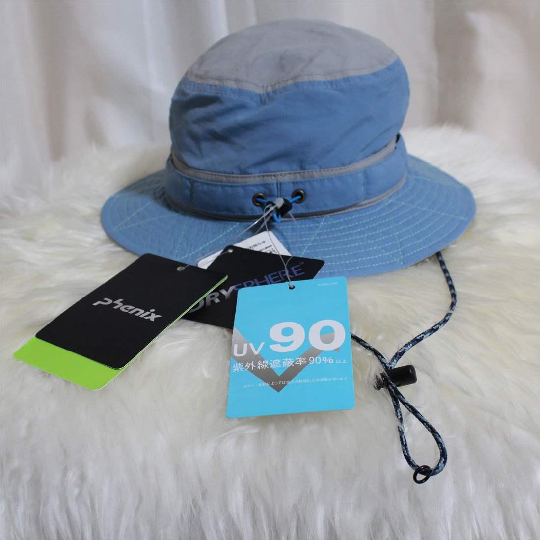 フェニックス phenix UV90 ハット サックス 新品 ジュニアフリー DRY SPHERE HAT_画像3