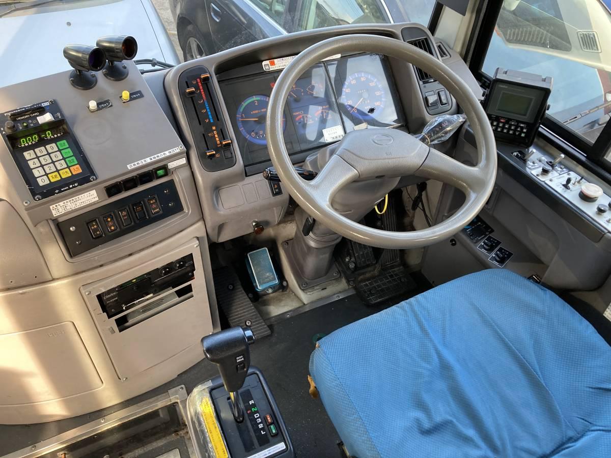 「H21 日野 ポンチョ HX6JLA 路線 バス AT 2ドア 7M 軽油 事業用 LED 検査付 絶好調」の画像1